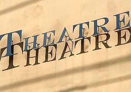 THEATRE SIGN BY PEGGY CLINE - 1-2020